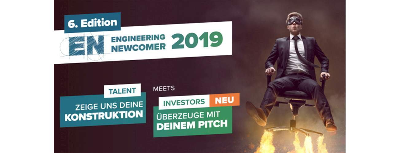 MDESIGN is now part of the jury of the Engineering Newcomer 2019 contest