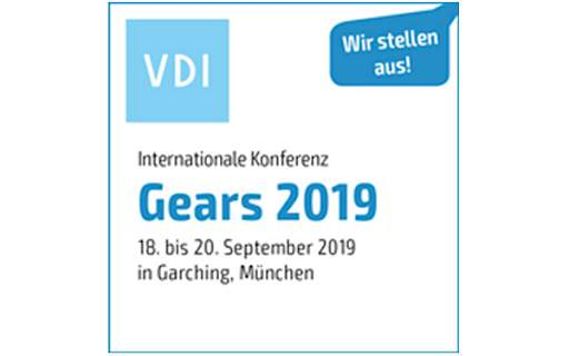 MDESIGN as exhibitor at the International Conference on Gears 2019