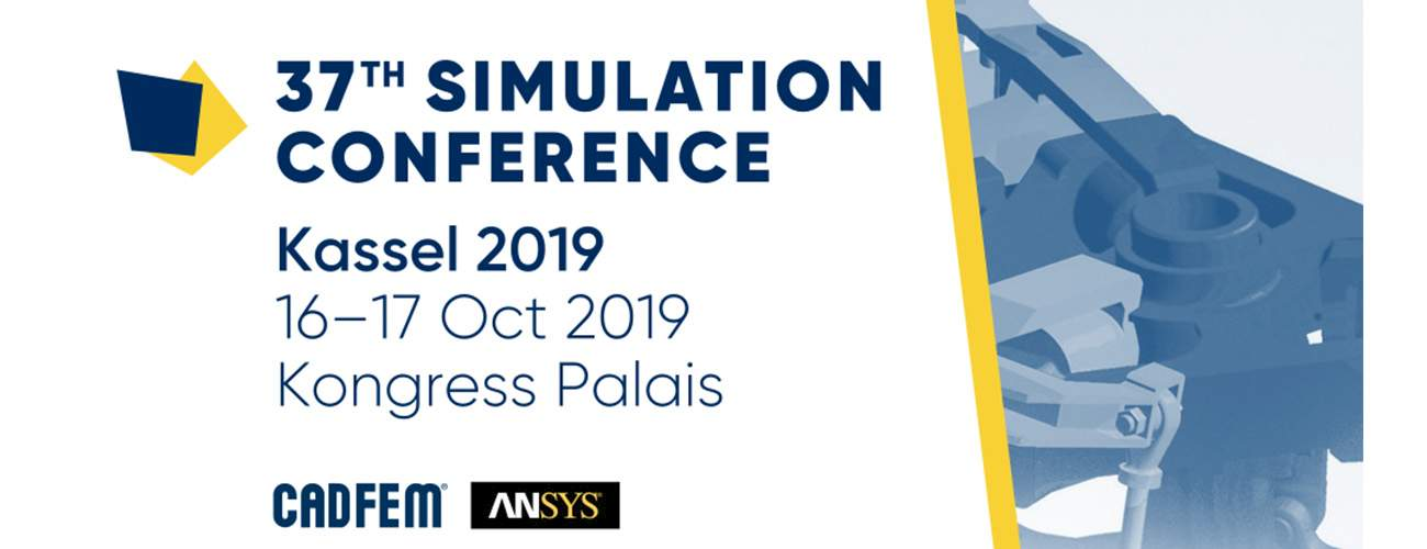 MDESIGN as exhibitor at the CADFEM ANSYS Simulation Conference 2019