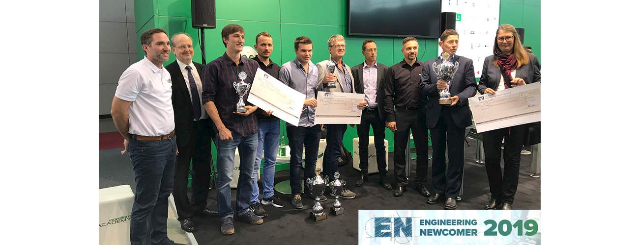 Ceremony Engineering Newcomer 2019 at this year´s Motek